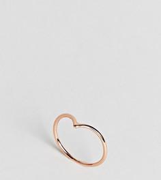 Кольцо цвета розового золота Kingsley Ryan - Золотой