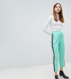 Укороченные спортивные брюки ASOS TALL - Зеленый
