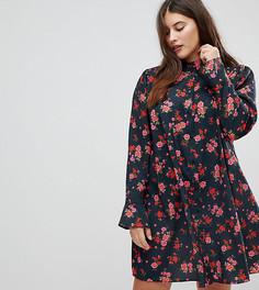 Платье‑рубашка с цветочным принтом ASOS CURVE - Мульти
