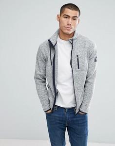Флисовая куртка Jack & Jones Core - Серый