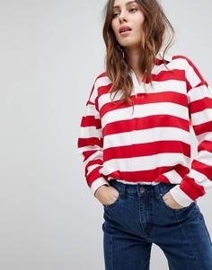 Рубашка регби в полоску EVIDNT - Мульти