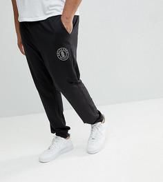 Узкие джоггеры с логотипом Only & Sons PLUS - Черный