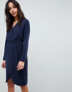 Платье с запахом Y.A.S - Синий