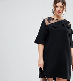 b771081eb35 Купить женские платья больших размеров с вырезом лодочка в интернет ...