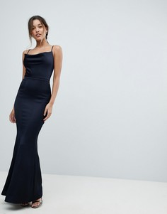 Платье макси Lipsy - Темно-синий