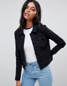 Джинсовая куртка Noisy May - Черный