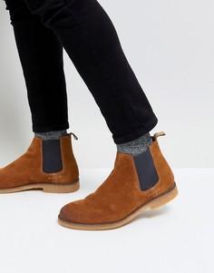 Замшевые ботинки челси River Island - Рыжий