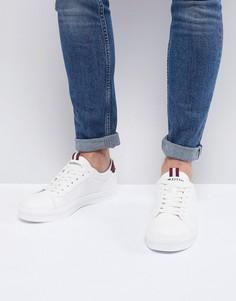 Белые кроссовки с сетчатыми вставками River Island - Белый