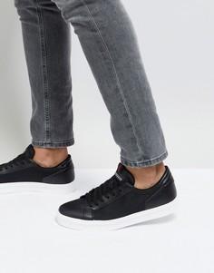 Черные кроссовки с сетчатыми вставками River Island - Черный
