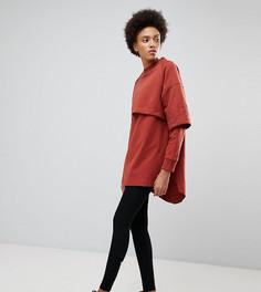 Двухслойное платье-свитшот Ivy Park - Оранжевый