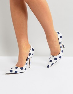 Туфли-лодочки в горошек Public Desire Tease - Мульти