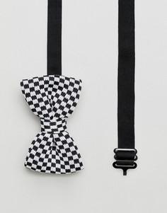 Трикотажный галстук-бабочка ASOS - Черный