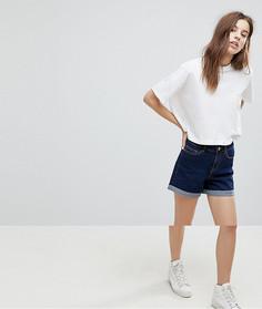 Джинсовые шорты с подвернутым краем Noisy May - Синий