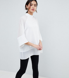 Оверсайз-футболка ASOS TALL - Белый