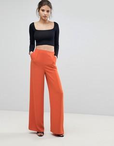 Широкие брюки Missguided - Оранжевый