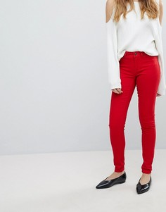 Зауженные джинсы JDY - Красный