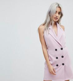 Платье без рукавов John Zack Petite - Розовый