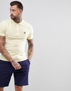 Желтая футболка-поло Lyle & Scott - Желтый