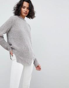Oversize-джемпер металлик AllSaints - Серый