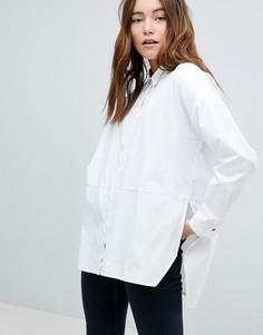 Рубашка с асимметричным краем Only - Белый