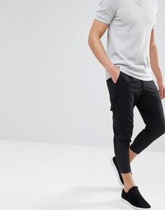 Укороченные узкие брюки Only & Sons - Черный