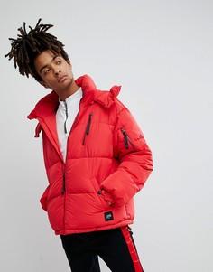 Красная дутая куртка Sixth June - Красный