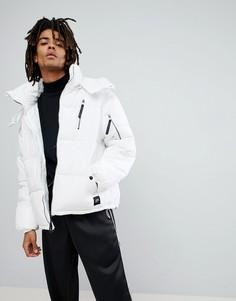 Белая дутая куртка Sixth June - Белый