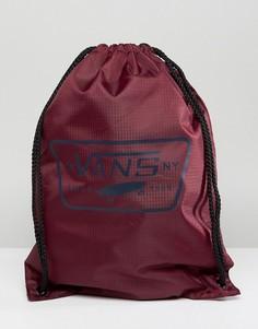 Бордовый рюкзак на шнурке Vans League - Красный