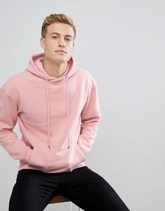 Розовый худи Jack & Jones Originals - Розовый