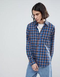 Синяя рубашка Vans Alameda II - Синий