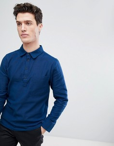 Рубашка с разрезом Native Youth - Темно-синий