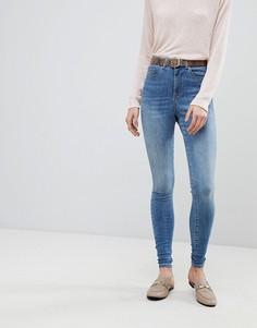 Супероблегающие джинсы Vero Moda - Синий
