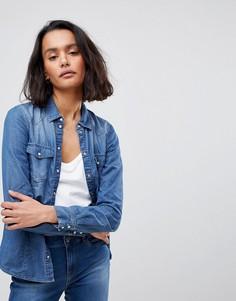 Джинсовая рубашка Vero Moda - Синий