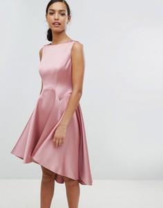 Приталенное платье Ted Baker - Розовый