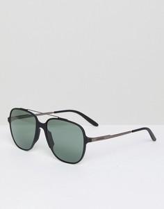 Квадратные солнцезащитные очки Carrera - Черный