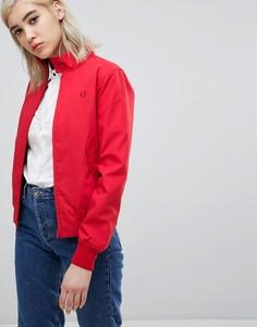 Классическая куртка Харрингтон Fred Perry - Красный