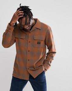 Светло-коричневая рубашка в клетку Emerica x Pendleton - Рыжий