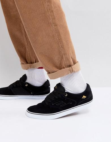 Черные кроссовки с вулканизированной подошвой Emerica Reynolds - Черный