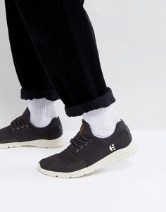 Черные кроссовки Etnies Scout - Черный