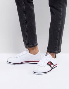 Кроссовки со шнуровкой и логотипом Tommy Jeans - Белый