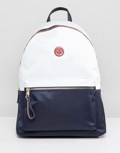 Рюкзак в стиле колор блок с лямками в полоску Tommy Hilfiger - Темно-синий