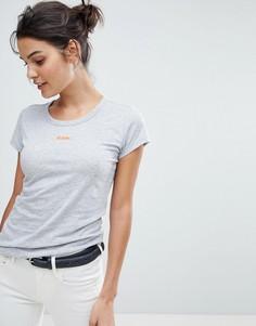 Зауженная футболка G-Star - Серый