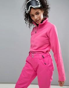 Флисовый топ Surfanic - Розовый