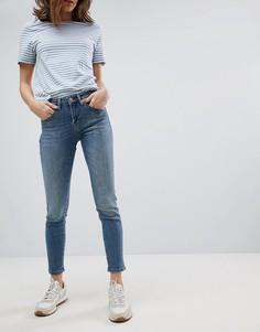 Укороченные джинсы Selected - Синий
