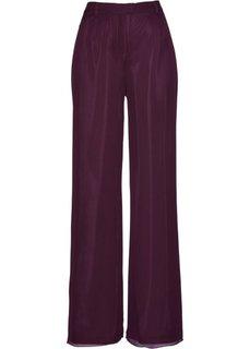Шифоновые брюки (цвет бузины) Bonprix