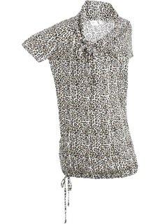 Удлиненная футболка с коротким рукавом (с рисунком) Bonprix