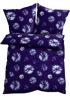 Постельное белье Батик, поликоттон (синий) Bonprix