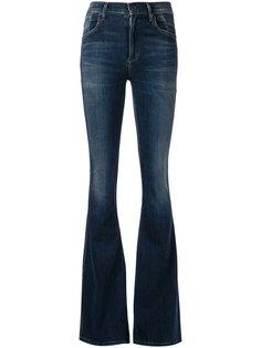 расклешенные джинсы с завышенной посадкой  Citizens Of Humanity