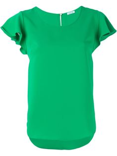 футболка с расклешенными рукавами P.A.R.O.S.H.