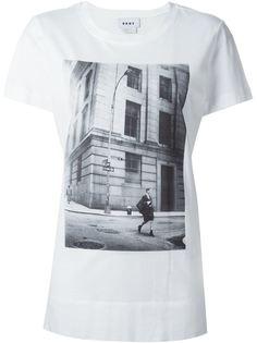 футболка с принтом 1994 DKNY
